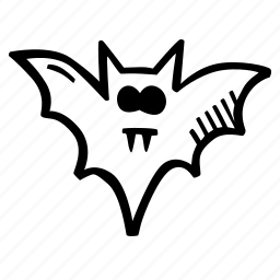 bat, halloween, holiday, scary, spooky icon