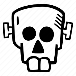 frankenstein, halloween, holiday, scary, skull, spooky icon