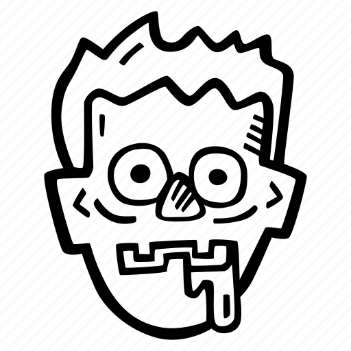 halloween, holiday, scary, spooky, zombie icon