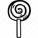 halloween, holiday, lolly, pop, scary, spooky icon
