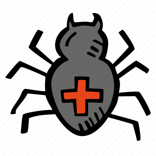 halloween, holiday, scary, spider, spooky icon