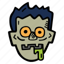 halloween, holiday, scary, spooky, zombie icon