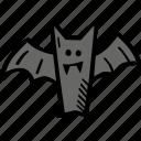 scary, bat, holiday, halloween, spooky