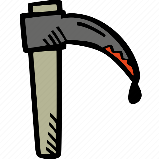 death, halloween, holiday, scary, sickle, spooky icon