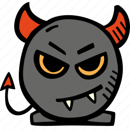 devil, halloween, holiday, scary, spooky icon