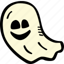 ghost, scary, holiday, halloween, spooky icon