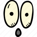 scary, eyes, holiday, halloween, spooky icon