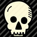 scary, holiday, halloween, skull, spooky