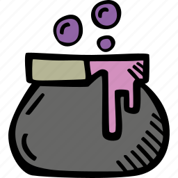 cauldron, halloween, holiday, scary, spooky, witches icon