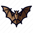 bat, evil, halloween, horror, scary, spooky icon