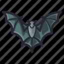 bat, evil, halloween, horror, scary, spooky