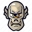 character, cyclops, halloween, horror, monster, spooky icon