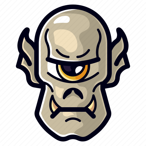 Character, cyclops, halloween, horror, monster, spooky icon - Download on Iconfinder