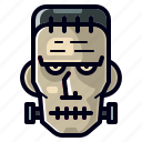 character, dead, frankenstein, halloween, horror, monster, spooky icon