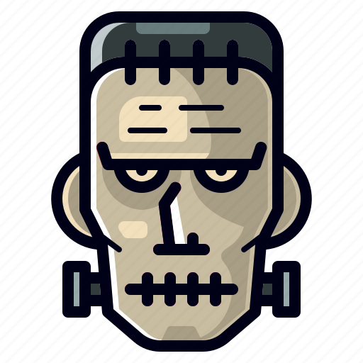 Character, dead, frankenstein, halloween, horror, monster, spooky icon - Download on Iconfinder