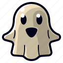 cartoon, character, cute, ghost, halloween, monster, spooky