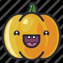 celebration, character, cute, halloween, holiday, pumpkin, vegetable