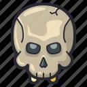character, dead, halloween, horror, scary, skull