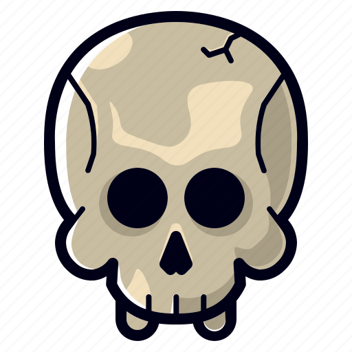 character, dead, halloween, horror, scary, skull icon