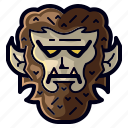 character, halloween, holiday, monster, werewolf, wolf, wolfman icon