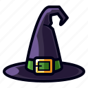 character, halloween, hat, holiday, horror, scary, witch icon