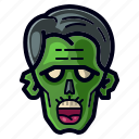 character, cosplay, dead, halloween, holiday, monster, zombie icon