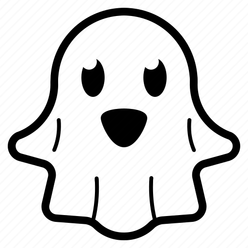 Character, cute, ghost, halloween icon - Download on Iconfinder