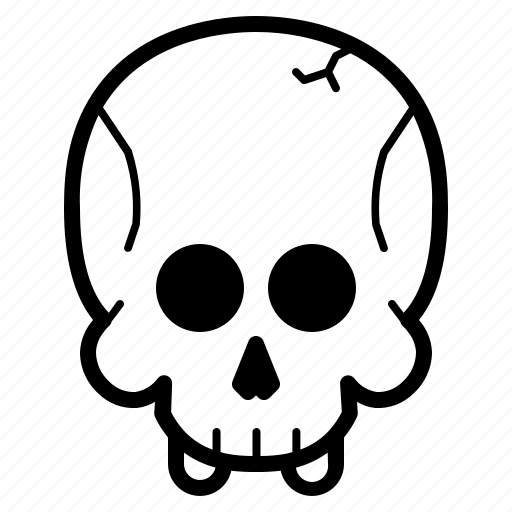 Dead, halloween, horror, skull, spooky icon - Download on Iconfinder