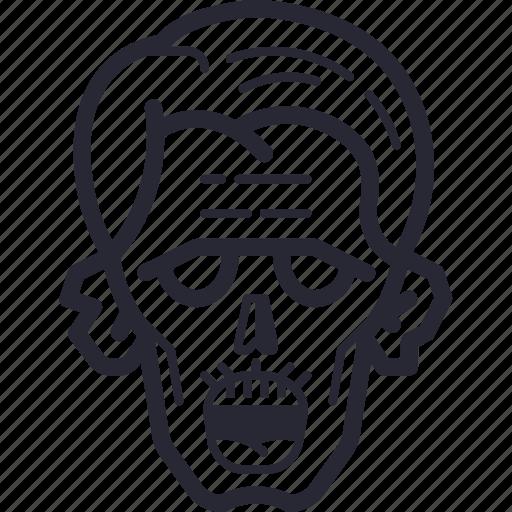 dead, halloween, horror, monster, spooky, zombie icon