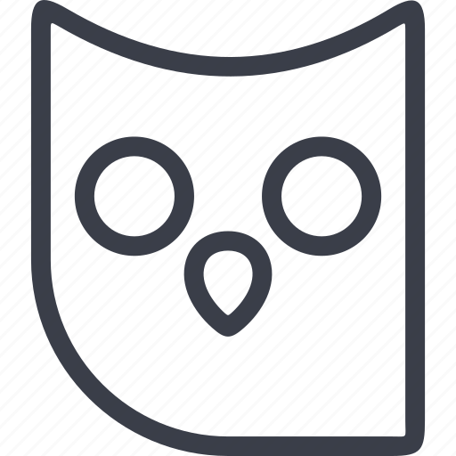 Halloween, horror, owl, scary, spooky icon - Download on Iconfinder