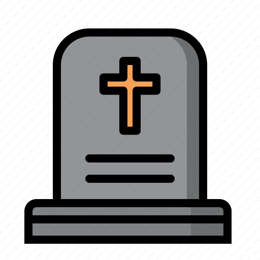 Halloween, mourn, stone, tomb icon - Download on Iconfinder