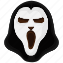 devil, evil, ghost, grim, scary icon