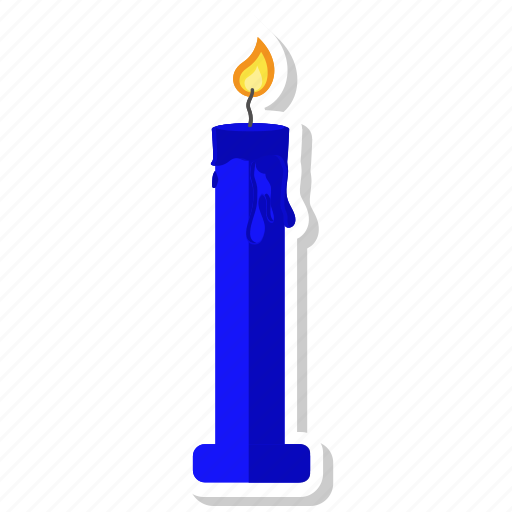 candle, christmas, decoration, halloween, new year icon