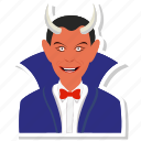 avatar, dracula, face, halloween, horror, monster icon
