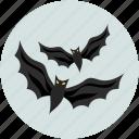 bats, dreadful, evil bats, fearful, halloween bats, horrible, scary