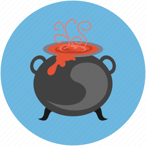 halloween cauldron, halloween cooking pot, halloween cookpot, halloween pot, scary icon