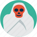 dreadful, evil, ghost, horrible, scary, scary evil ghost icon