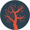creepy mojave landscape, halloween dead tree, halloween tree icon