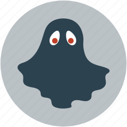 ghost, halloween black ghost, halloween ghost icon