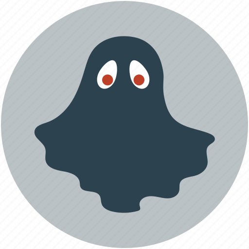 Ghost, halloween black ghost, halloween ghost icon | Icon ...