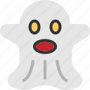 ghost, halloween, scary icon icon