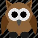 bird, halloween, owl, owl icon icon