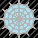 halloween, spider, web, web icon icon