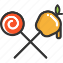 candies, halloween icon
