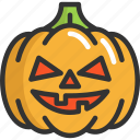 evil, face, halloween, pumpkin icon