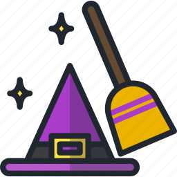 halloween, hat, witch icon