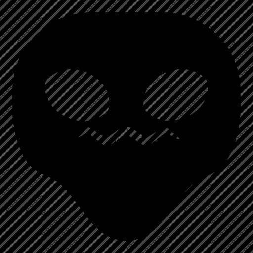 alien, hurt, sick, universe icon