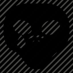 alien, drop, sad, tear, universe icon