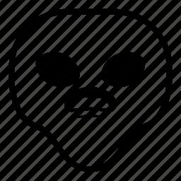 alien, surprised, universe, wondering icon