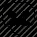 alien, mustache, universe icon